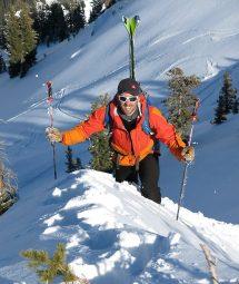 Utah ski touring