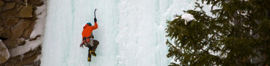 Utah Ice Climbing