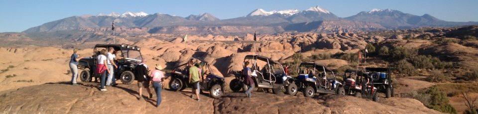 Moab 4x4 tour