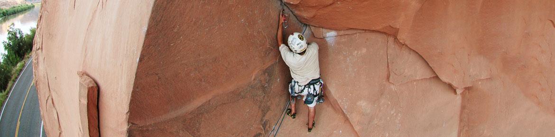 Guided Rock Climbing - Moab